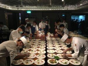 2020麗晶之夜 - 晶華酒店30週年慶晚宴邀請MUME主廚林泉與團隊為大家獻上精緻美食