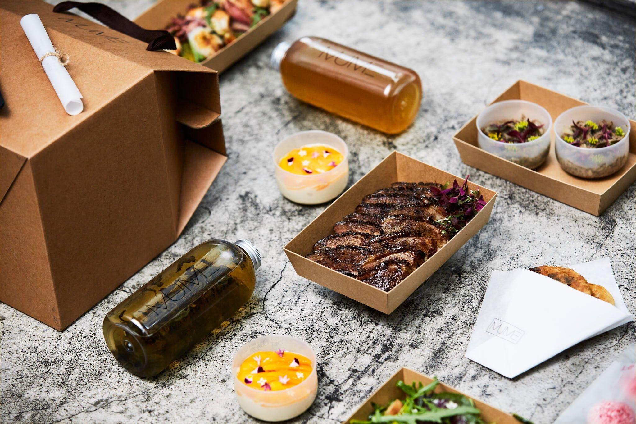 米其林一星餐廳MUME推出外帶外送餐點